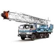 Агрегат для освоения и ремонта скважин УПА-60 (шасси КАМАЗ-53229 6х4) фото