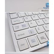 Сверхплоская Беспроводная Bluetooth-клавиатура для планшетных компьютеров ПК Android OS фото