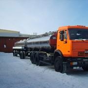 Автоцистерна-Молоковоз на шасси КАМАЗ фото