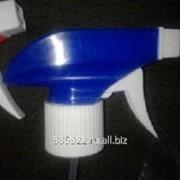 Триггер-курковый распылитель (белый с синим) на головину BPF-28 фото