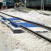 Весы железнодорожные фото