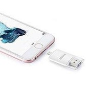 Картридер I-Flash Device HD для iPhone/iPod/iPad Белый фото