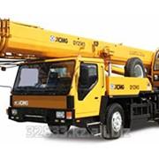 Услуги автокрана XCMG 50 тонн с вылетом стрелы 40 метров фото