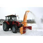 Снегоочиститель шнекороторный ФРС-200М на базе Беларус-92П фото