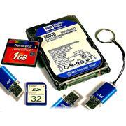 Услуги по восстановлению данных с различных носителей (жёстких дисков флэшек CD/DVD) фото