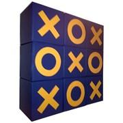 Конструктор мягкий напольный Игра Крестики нолики кубики фото