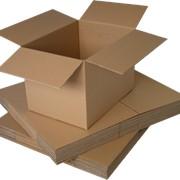 Картон гофрированный трехслойный фото