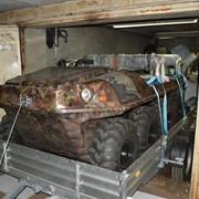 Вездеход-амфибия Bonai amphi 8x8 плавающий снегоболотоход, мото-вездеход, болотоход. фото