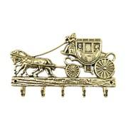 Ключница металлическая настенная Дилижанс фото