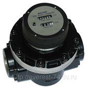 Счетчик для дизельного топлива или масла со стальными овальными шестернями OGM-А-40 с мех. регистратором фото