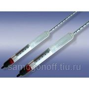 Ареометр - спиртометр с термометром 60-100 % об. фото