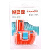 Аккумулятор Hammer Akb1215 12в 1.5ач nicd фото