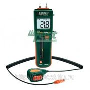 Extech MO265 - Комбинированный штифтовой/бесконтактный измеритель влажности