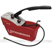 Ручной опрессовочный насос ТП 40 (TP 40) макс. давление 40 бар, для систем водоснабжения и отопления фото