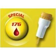 Ланцет (скарификатор) Acti-lance Special 2,00 мм неонатальный (Лезвие 17 G 0,8 мм, сильный) желтый фото