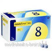 """Иглы для шприц-ручки """"Novofine"""" (6 мм) фото"""