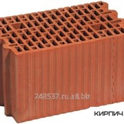 Блок керамический Porotherm 20 поризованный фото