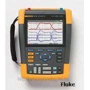 Цифровой запоминающий осциллограф-мультиметр (скопметр) с комплектом SCC290 (Fluke190-202) фото