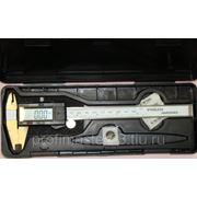 Штангенциркуль электронный с глубиномером фото