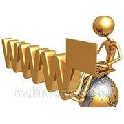 Сайт с интернет-магазином фото