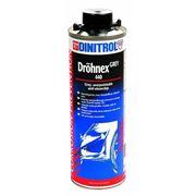 Антигравий серого цвета на основе пластика и синтетической резины Dinitrol 440 1л фото