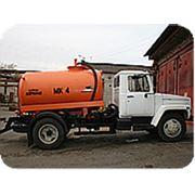 Машина ассенизационная МК-4 ГАЗ-3309 фото