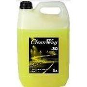 """Жидкость омывателя """"CleanWay"""" 5л (-30) канистра фото"""