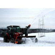 Шнекороторный снегоочиститель для трактора МТЗ 82 (Дания) фото