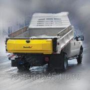 Пескосолеразбрасыватель Snowex бортовой фото