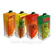 Дизайн серии упаковок фото