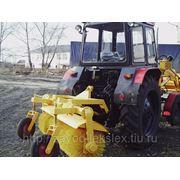 Щетка дорожная коммунальная для трактора МТЗ, ЮМЗ фото
