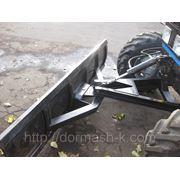 Отвал плужный (механический поворот) фото