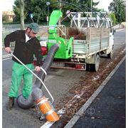Уличный пылесос для уборки листьев и мусора PERUZZO TURBO 400 фото