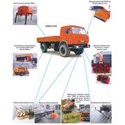 Универсальная дорожно-коммунальная машина УДКМ-40Е фото