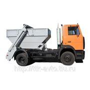 Контейнерный мусоровоз КО-450
