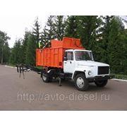 Мусоровоз ГАЗ-САЗ-3901-10 фото