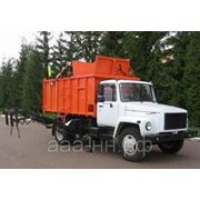 Мусоровоз КО-440, 440-2 на базе ГАЗ 3309 фото