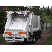 мусоровоз hino 300 XZU720L HKFRPW3 с задней загрузкой объемом 8 куб.м. фото