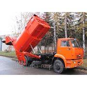 КО-449-05 на шасси КамАЗ-53605 мусоровоз с боковой загрузкой фото