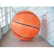 """Надувной аттракцион """"Баскетбольный мяч"""""""