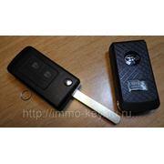 Корпус выкидного ключа для Субару, 2 кнопки фото