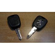 Корпус ключа PEUGEOT, 2 кнопки (VA2) фото