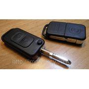 Корпус выкидного ключа для MERCEDES, 2 кнопки (HU39) фото