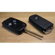 Корпус выкидного ключа для TOYOTA, 3кнопки toy43 (Тип3) фото