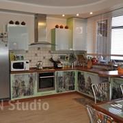 Кухонные фасады, печать фото