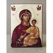 Икона Богородиця Одигитрия код IC-34-22-30 фото