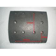Накладка тормозная задняя 13TQYW-R 220*17.5*215.5 фото