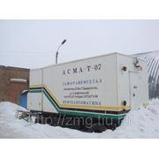 Установка массоизмерительная АСМА-Т-07 ПГ2,0 в прицепе СЗАП-8357 фото