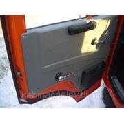 Кабина бортового Камаз 53205 высокая крыша без спальника, оранжевый