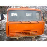 Кабина Камаз 44108 со спальником, высокая крыша, оранжевый